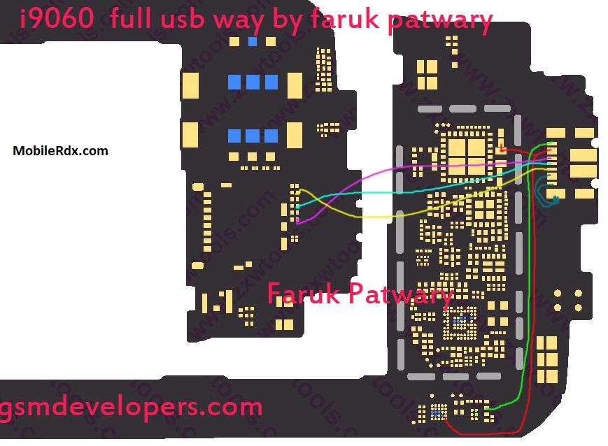 Samsung I9060 Charging Problem Ways USB Jumper