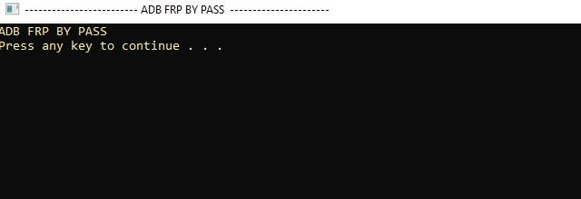 Alcatel 5059l FRP remove
