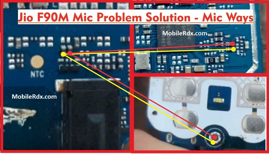 Jio F90M Mic Problem Solution Mic Ways