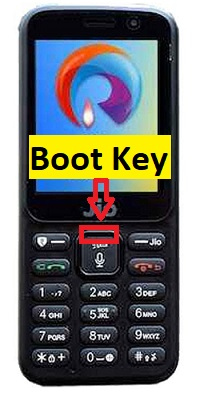 LYF Jio F10Q Boot Key