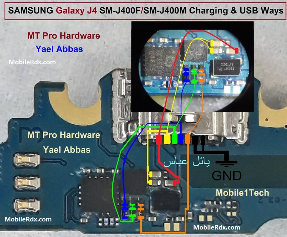Samsung Galaxy J4 J400F Charging Ways Problem Hardware Solution
