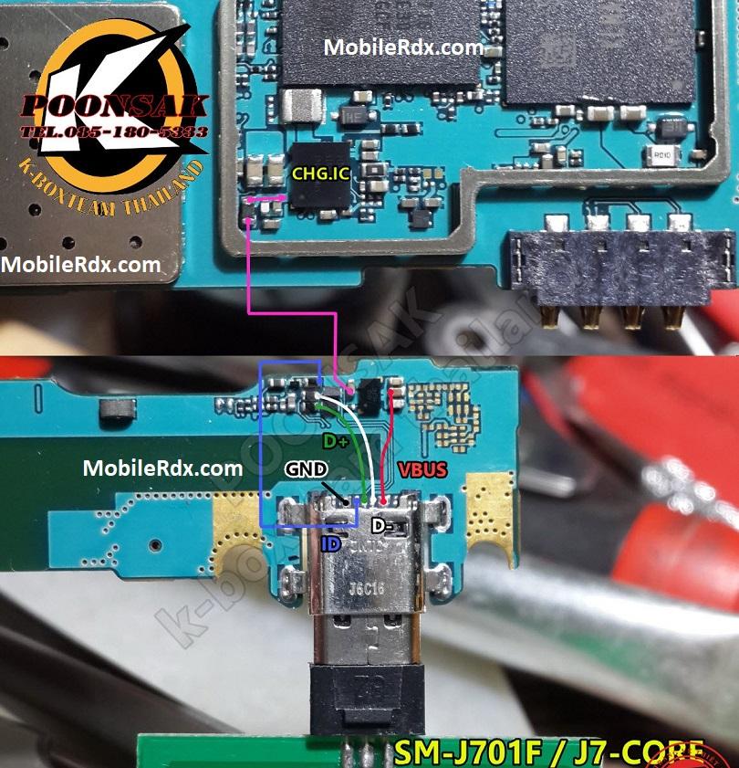 Samsung Galaxy J7 J701F Charging Problem Solution USB Ways