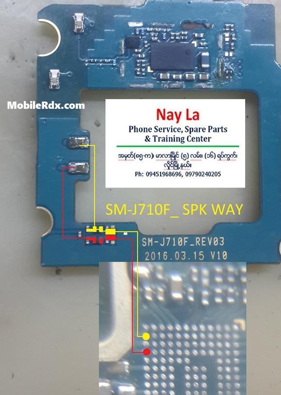 Samsung Galaxy J7 J710F Ringer Ways