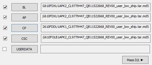 Samsung Galaxy J7 Prime G610F Rom Files