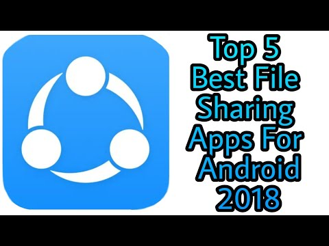 Top 5 File Sharing Apps For Android 2018