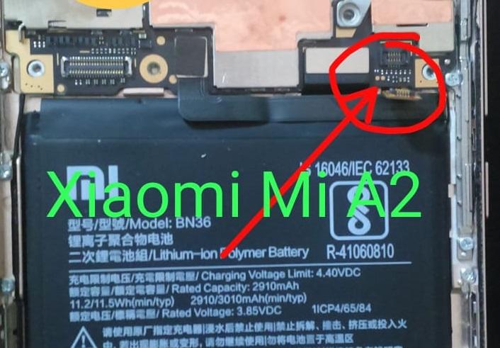 Xiaomi Mi A2 EDL Mode PINOUT [Xiaomi Mi A2 Test Points]