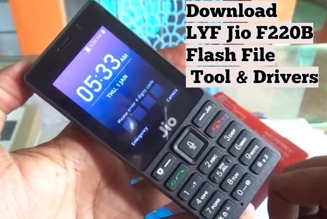 LYF Jio F220B Flash File