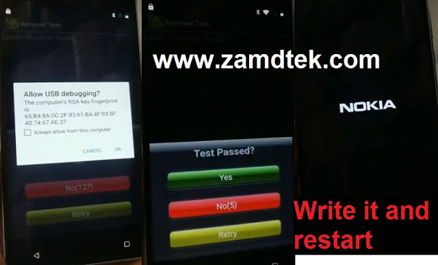 Nokia 8 FRP bypass write FRP file and restarts