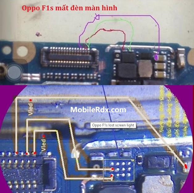 Oppo F1s Display Light Ways