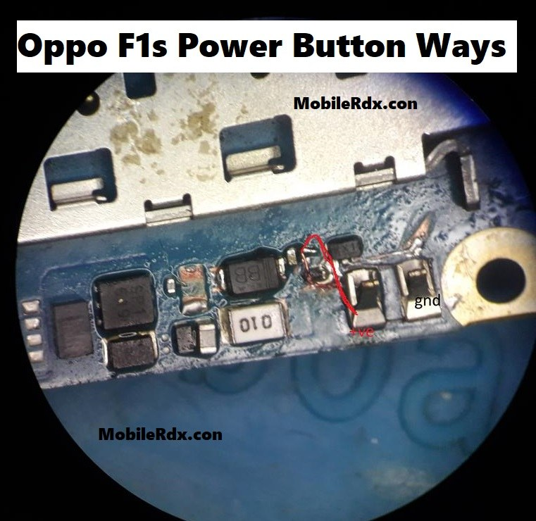Oppo F1s Power Button Ways Solution On