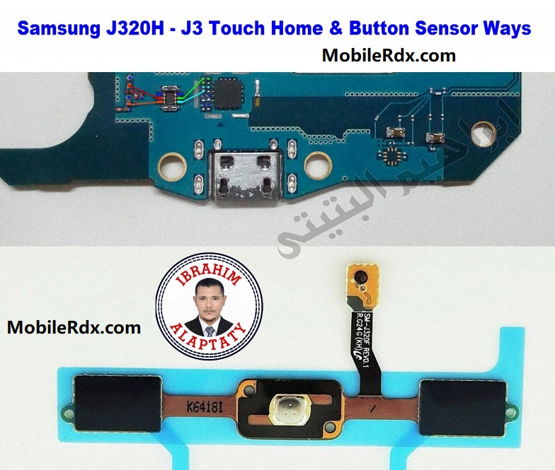 Samsung Galaxy J3 J320h Home And Touch Button Ways