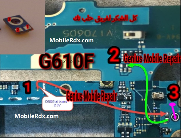 Samsung Galaxy J7 Prime G610F Mic Ways Problem Jumper Solution