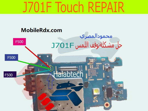 Samsung J701F Touch Screen Ways Touchscreen Solution