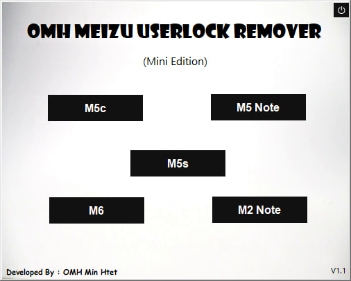 Download OMH Meizu User Lock Remove Tool