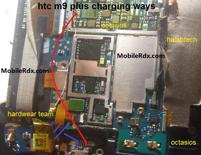 HTC One M9 Plus Charging Ways Solution Charging Jumper