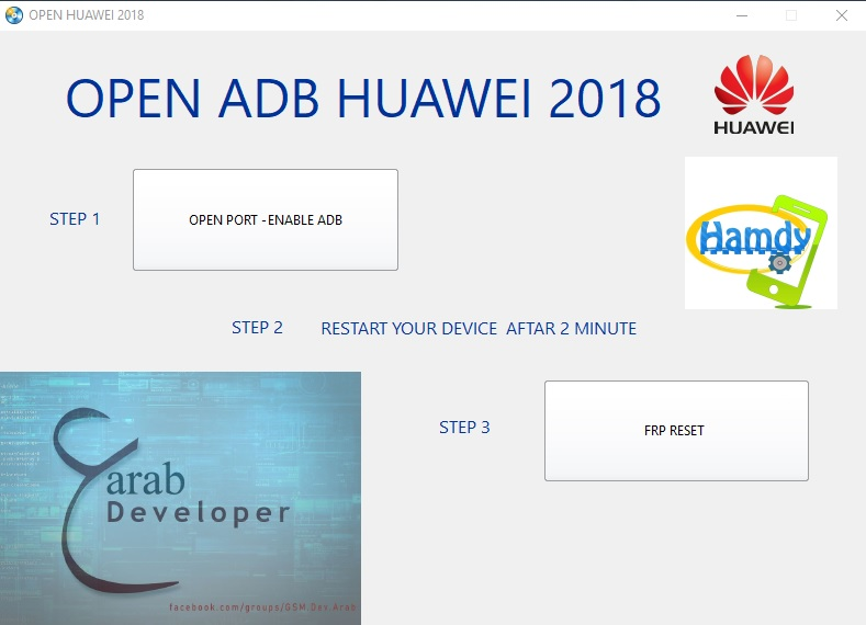 Huawei FRP Lock Remove Tool - Huawei ADB Enable 2019