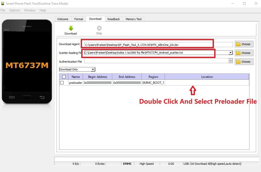 Nokia 1 TA 1066 FRP Unlock
