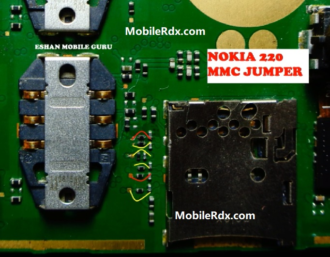 Nokia 220 RM 969 Memory Card Ways MMC Problem Solution