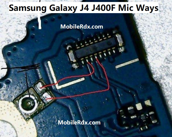 Samsung Galaxy J4 J400F Mic Ways Mic Jumper Solution