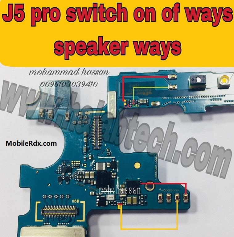 Samsung Galaxy J5 Pro J530 Power Button Ways Solution