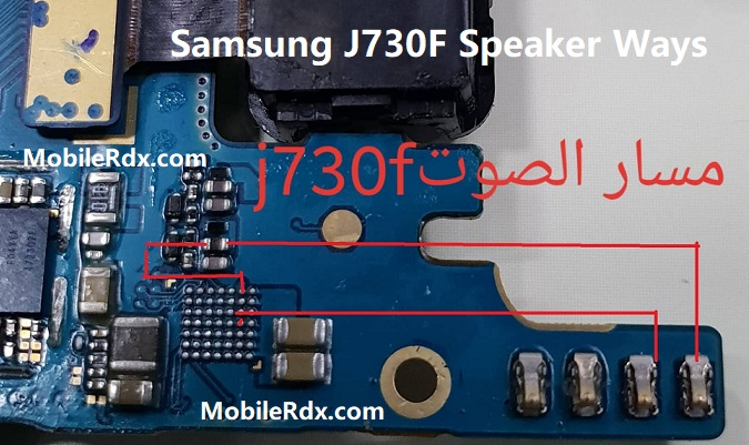 Samsung J730F Speaker Ways Sound Problem Repair Solution