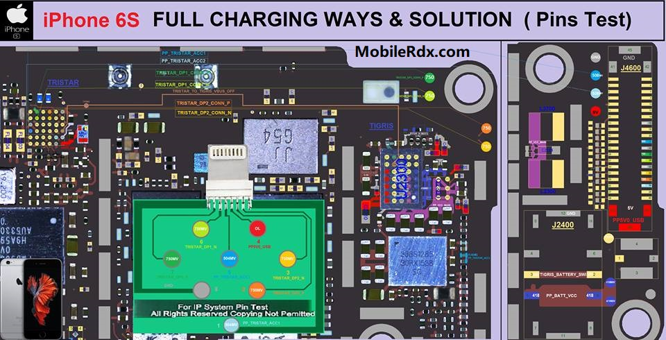 iPhone 6S Full Charging Ways Charging Problem Solution