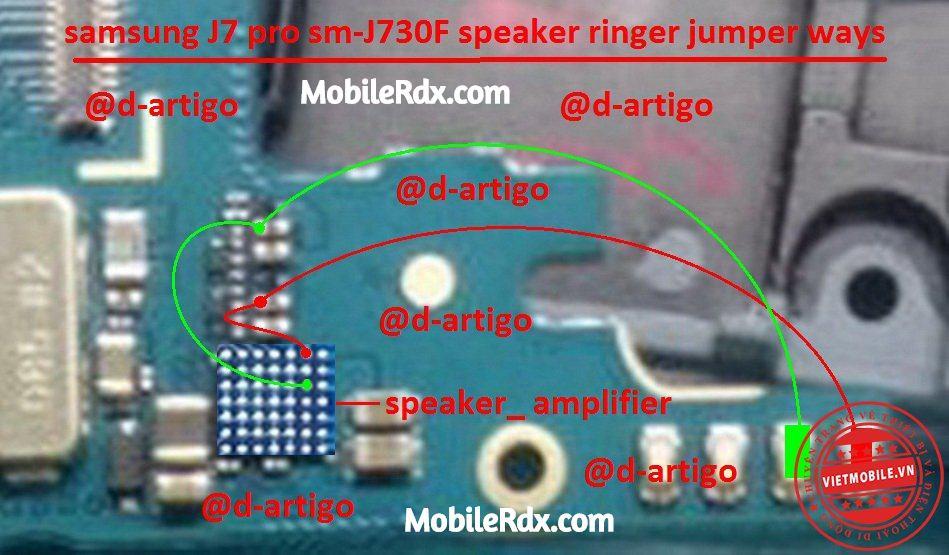 samsung sm J730F speaker ways solution