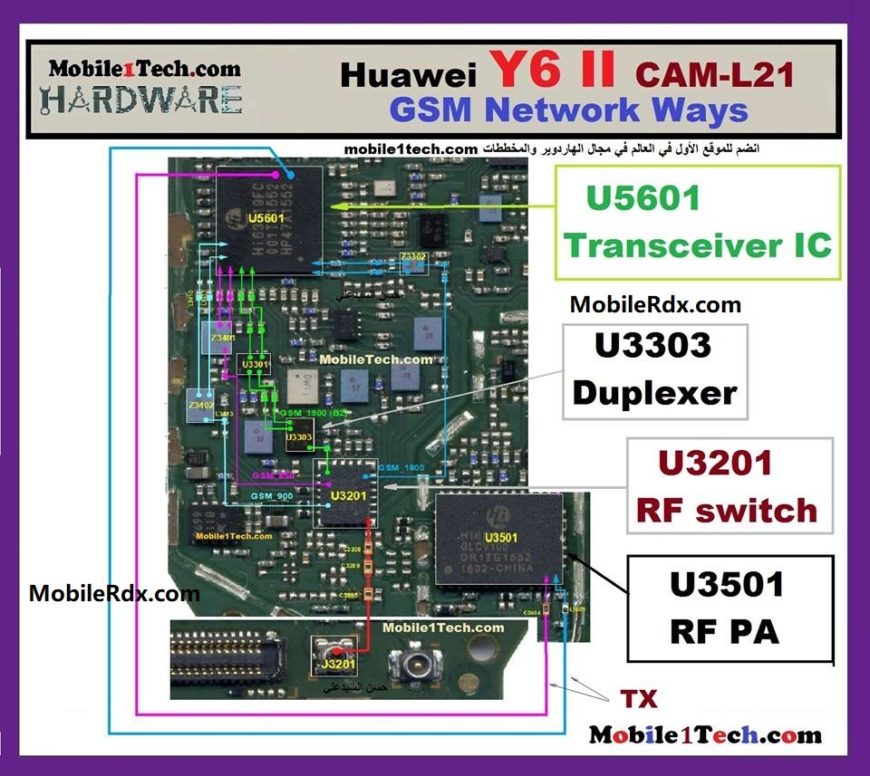 Huawei Y6 II Network Ways Signal Problem Repair Solution