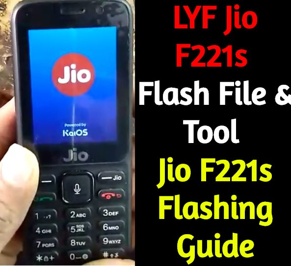 LYF Jio F221s Flash File Tool – Flash Jio F10Q Without Box
