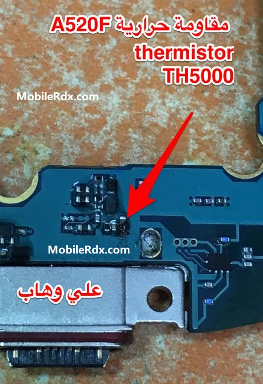Repair Samsung A520F Charging Paused Battery Temperature Too Low
