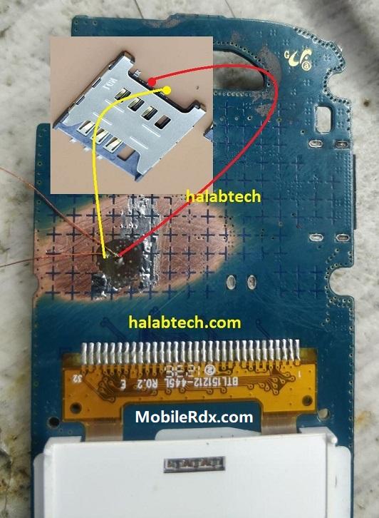 Samsung E1205Y Sim Ways Insert Sim Card Prolem Solution