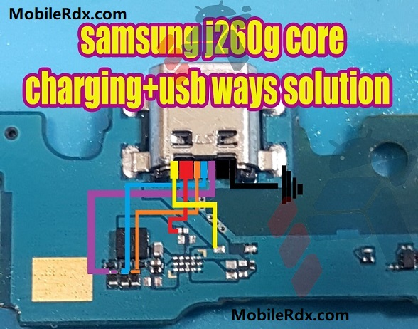 Samsung Galaxy J2 Core J260G Charging Problem Repair Solution Charging Ways