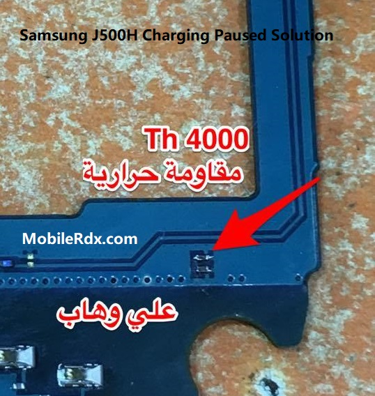Samsung J500H Charging Paused Solution Battery Temperature Problem