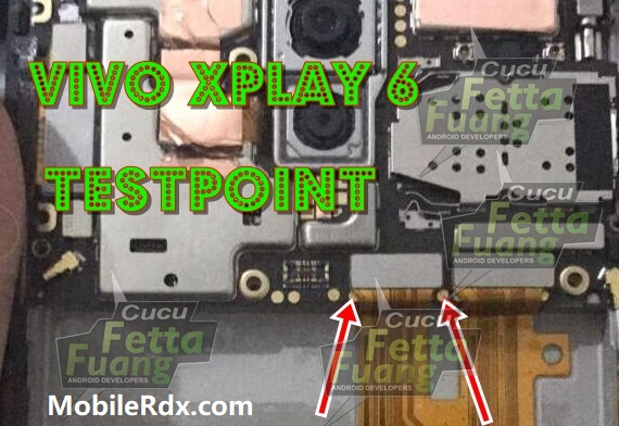 Vivo Xplay 6 Test Point For Flashing FRP Lock Remove