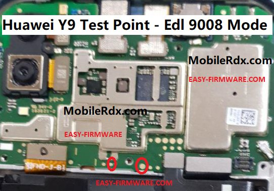 Huawei Y9 Test Point Edl 9008 Mode