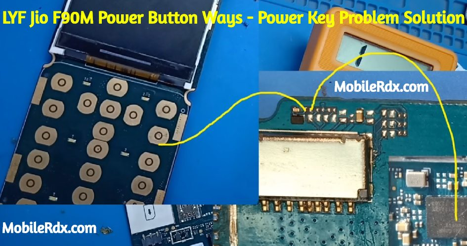 LYF Jio F90M Power Button Ways Jio F90M Power Key Problem Solution