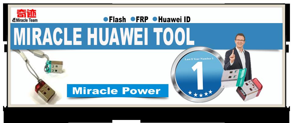 Miracle Huawei Tool