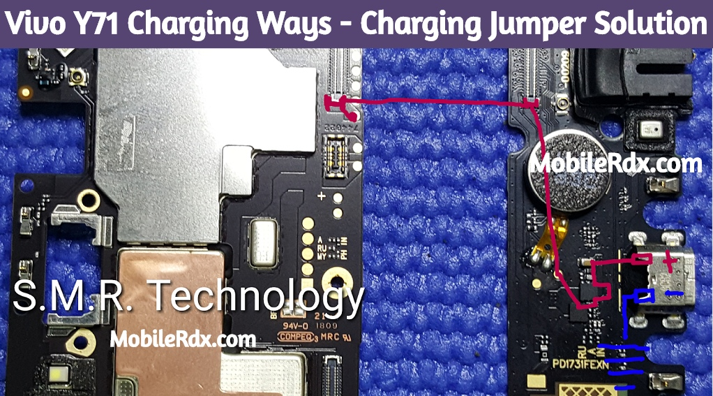 Vivo Y71 Charging Ways Not Charging Problem Solution