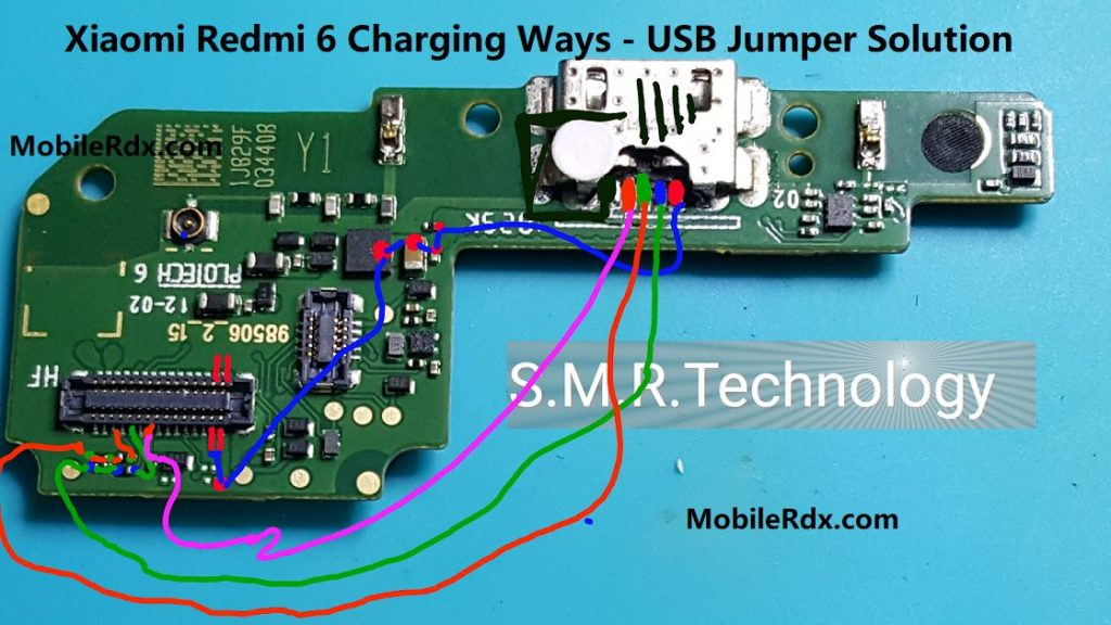 Xiaomi Redmi 6 Charging Ways USB Jumper Solution 1024x576