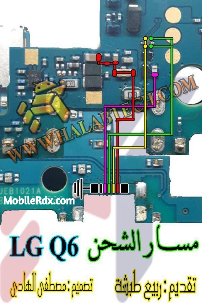 LG Q6 Charging Ways Solution USB Jumper