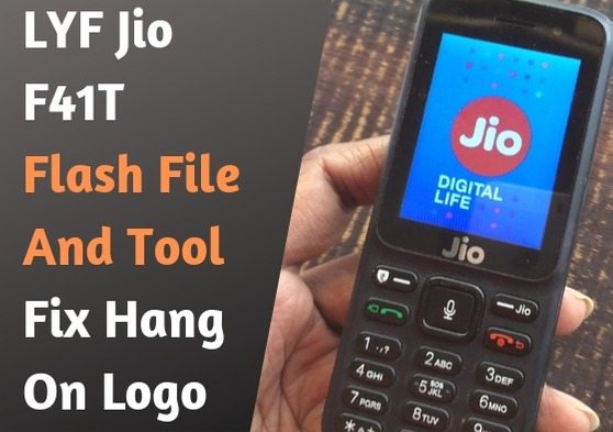 LYF Jio F41T Flash File & Tool - Fix Hang On Logo Restart