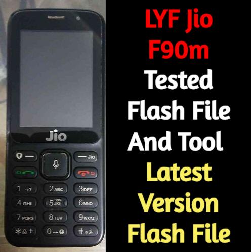 LYF Jio F90m Tested Flash File And Tool   How To Flash Jio F90m