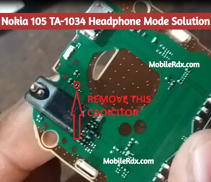 Nokia 105 TA 1034 Headphone Mode Solution Handsfree Symbol Problem
