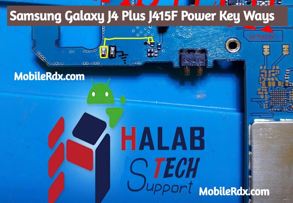 Samsung Galaxy J4 Plus J415F Power Key Ways