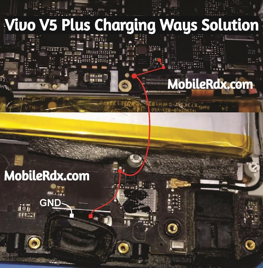 Vivo V5 Plus Charging Ways Not Charging Problem Solution