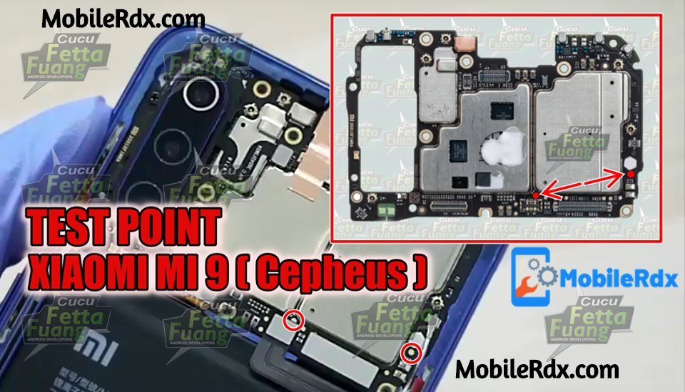 Xiaomi Mi 9 Test Point Xiaomi Mi 9 EDL 9008 Mode