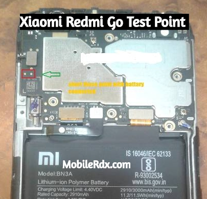 Xiaomi Redmi Go Test Point For Flashing | EDL 9008 Mode