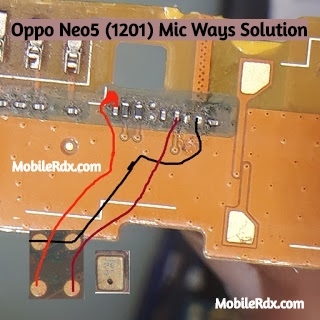 Oppo Neo5 1201 Mic Ways Mic Problem Jumper Solution