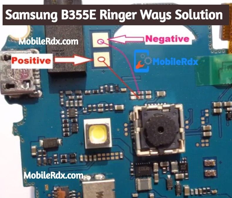 Samsung B355E Ringer Ways Speaker Jumper Solution