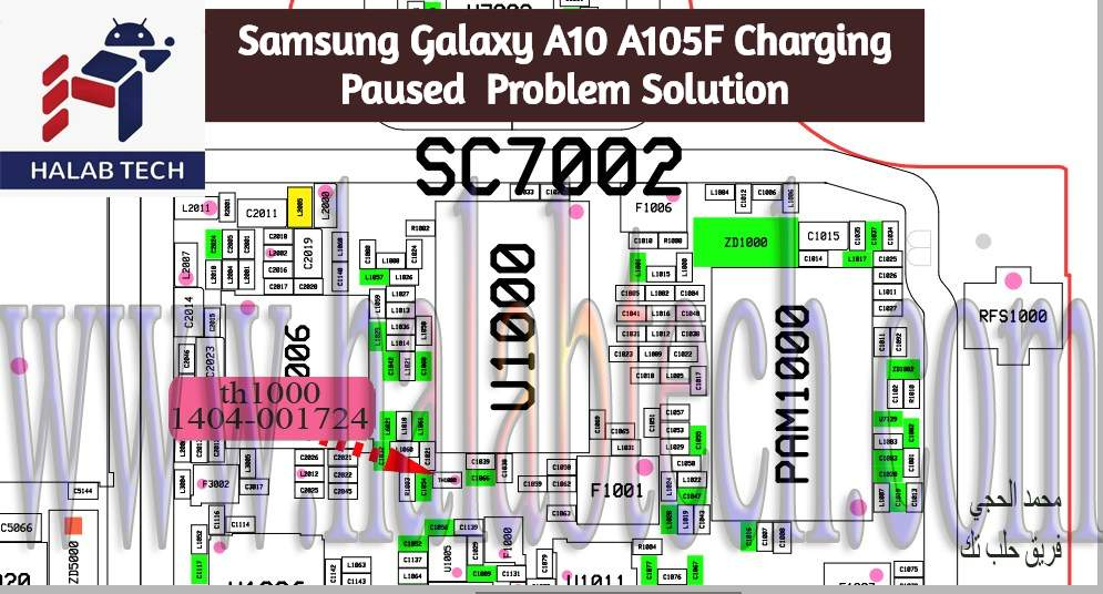 Samsung Galaxy A10 A105F Charging Paused Problem Solution 1